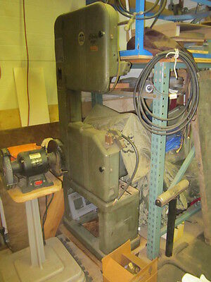 "Walker Turner 16"" Wood/Metal Vertical Band Saw"