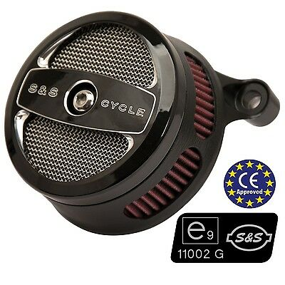 Filtro Aire Homologado Para HD® Sportster® S&S Stealth Air Cleaner ECE Approved