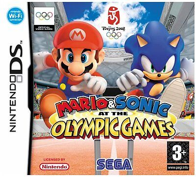 *BOX & MANUAL ONLY* MARIO AND SONIC AT THE OLYMPICS GAMES - NINTENDO DS / DSi