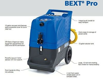 Clarke Bext Pro 100H Commercial Portable Carpet Extractor Cleaner With Heat