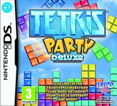 *BOX & MANUAL ONLY* TETRIS PARTY DELUXE - NINTENDO DS / DSi