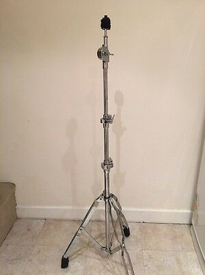 Sturdy Single Braced Straight Cymbal Stand Ex Cond Cheap P&P