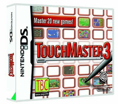 *BOX & MANUAL ONLY* TOUCHMASTER 3 - NINTENDO DS / DSi