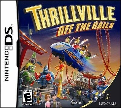 *BOX & MANUAL ONLY* THRILLVILLE OFF THE RAILS - NINTENDO DS / DSi