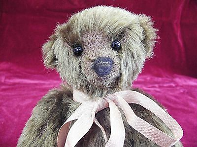 Old Antique Small Brown Mohair Teddy Bear