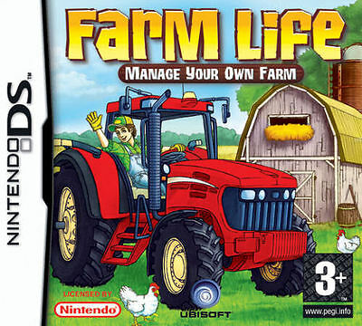 *BOX & MANUAL ONLY* FARM LIFE - NINTENDO DS / DSi