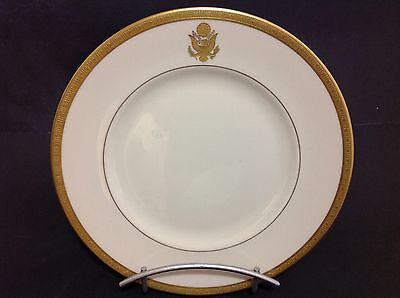 """Syracuse China Historical Presidential Railroad Car Old Ivory Plate 9.75"""" W."""