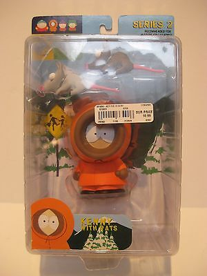 South Park 2004 Mirage Series 2 **KENNY with RATS**  Action Figure NIP