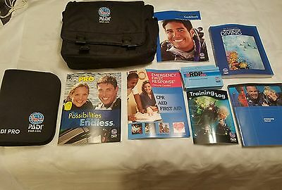 PADI PRO Binder & bag Instructor Manual Open Water Diver Scuba Diver Course Book