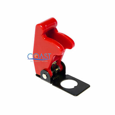 Car Trucks Marine Off Road Safe Flip Toggle Switch Safety Cover Guard - Red