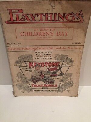 1927 March Playthings Catalog National Magazine Of The Toy