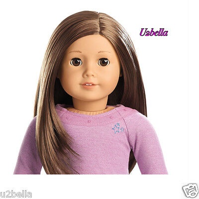 NEW AMERICAN GIRL TRULY ME Doll:Light Skin,layered brown hair,brown eyes 59 NO X