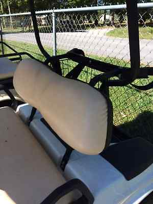 Club Car DS G/E Seat Back Assembly  (2000 & Up) - Buff