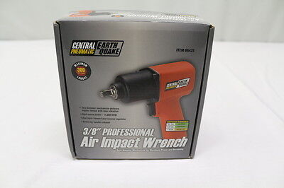 """Central Pneumatic EarthQuake 68425 3/8"""" Professional Air Impact Wrench"""