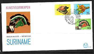 Suriname 1979 Fdc – Art Objects #a0763