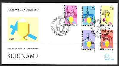Suriname 1979 Fdc – Easter #a0760