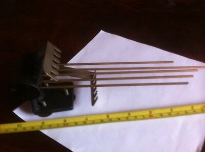 Antique Westminster Chime Mantle Clock Chime Bars