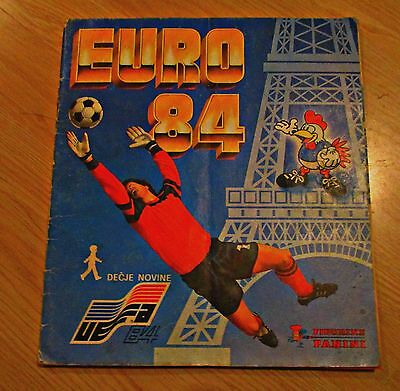 Euro 84 - Panini - Complete Album - Very Good!!!