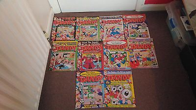 Vintage/Retro Dandy Comics X 10 From 1999