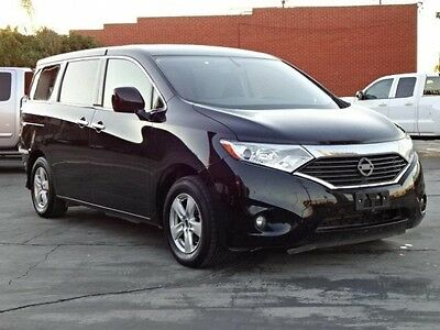 2015 Nissan Quest SV 2015 Nissan Quest SV Damaged Wrecked Only 37K Miles Many Options Export Welcome!