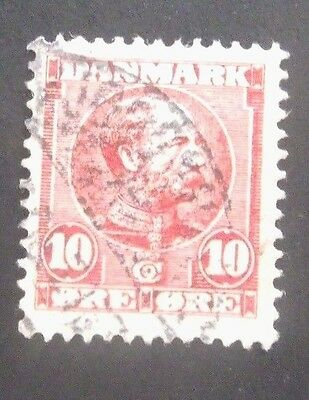 Denmark-1904/1905-Early 10 Ore issue-Used
