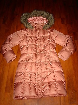 Lovely Girl's Next Blush Pink Winter Coat (age 11-12 years)