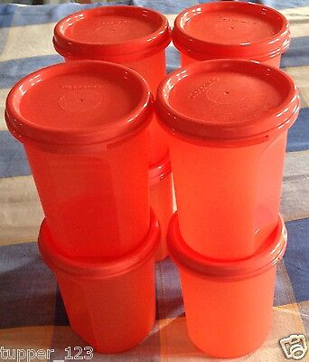 Tupperware-Modular Mates Round-2 Set of 8 In Color...capacity 440ml each New....