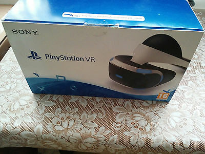 PS4 Playstation VR PSVR Headset Boxed CASH ON COLLECTION ONLY