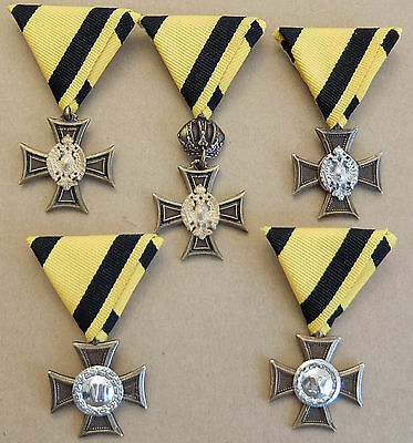 Austro-Hungarian Ww1 Service Medal Collection