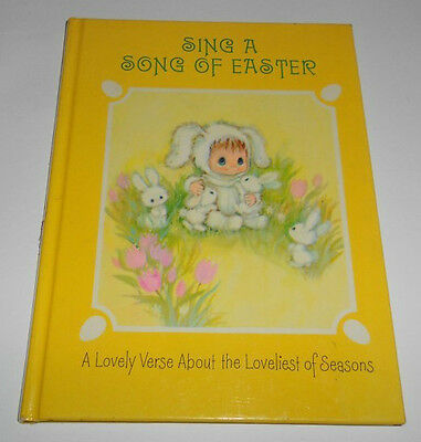 Vintage Hallmark Sing a Song of Easter Book of Verses 1971 HC Cunningham