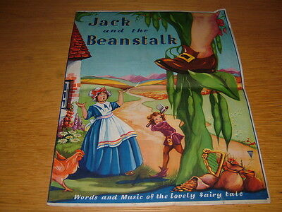 pantomine fairy tale Jack and the Beanstalk theatre programme