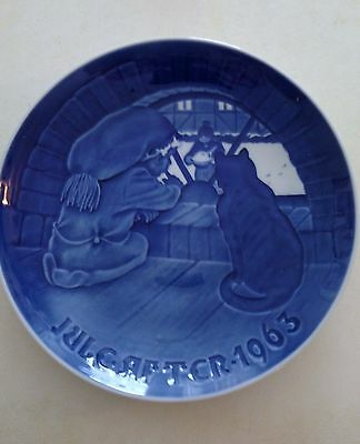 1963 Bing And Grondahl Annual Christmas Plate