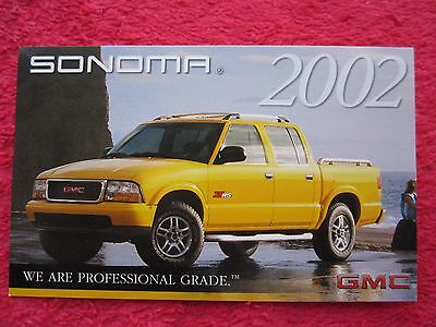 2002 Gmc Sonoma Factory Features / Info Card #2