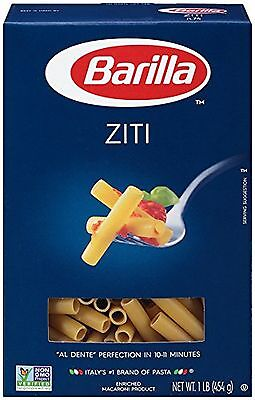 Barilla Pasta Ziti 16 Ounce (Pack of 12) Pack of 12