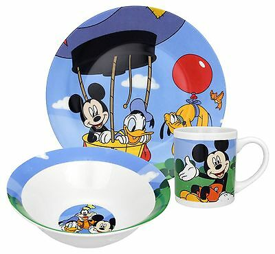 Disney Mickey Mouse Clubhouse Dinnerware Set  3-Piece
