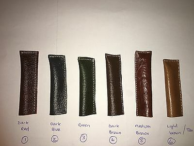One Snooker Real Leather Cue Tip Protector