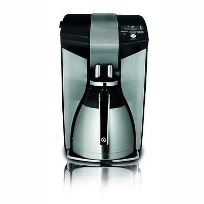 Oster Optimal Brew Blooming Technology 12-Cup Coffee Maker, Stainless Steel