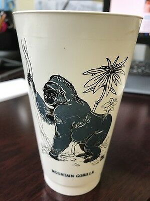 Mountain Gorilla Slurpee Cup SAVE A LIVING THING Endangered Animals 7-11