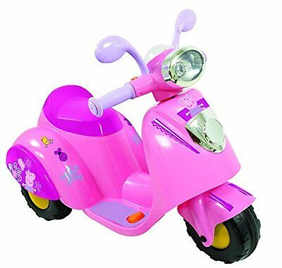 Peppa Motorbike Powered with 6V Battery - MV Sports - M09252