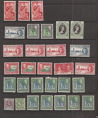 St Vincent 30  Stamps Mh