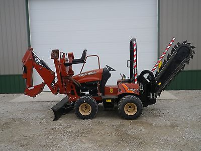 2012 DITCH WITCH RT45 HYDRAULIC TRENCHER A322 BACKHOE VERMEER RT450 427 Hours