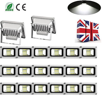 20X 10W LED Floodlight SMD Cool White Outdoor Security Garden Lamp IP65 LED Lamp