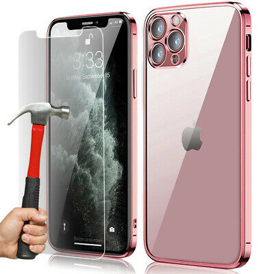 COQUE HOUSSE PROTECTION IPHONE 8/7/6/S/5/X XR XS MAX 11 Pro +FILM VERRE TREMPE