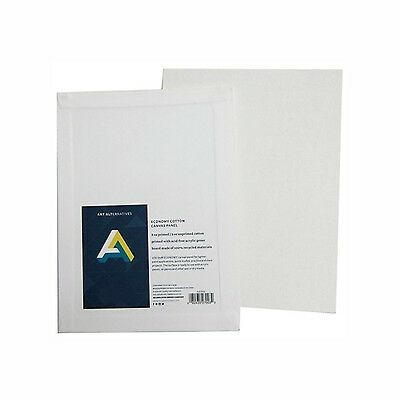 Art Alternatives Canvas Panel (11 X 14) PACK OF 12 White 11x14