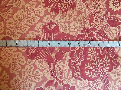 "Vintage liberty RINDJANI cotton interior floral fabric 54"" wide x 38"" long"