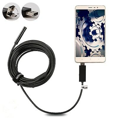 DBPOWER 7MM Android Endoscope Android Borescope with OTG Micro USB Endoscope ...