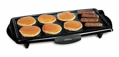 "Sunbeam 10""x20"" Electric Griddle"