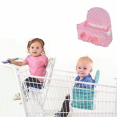 Buggy Bench Shopping Cart Seat in Posh Pink for Baby Toddler and Twins (Up To...