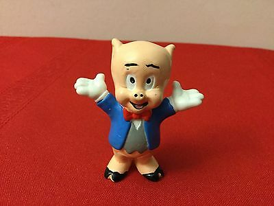 "Warner Bros. PVC Characters -2 1/4"" Porky Pig figure - Applause"
