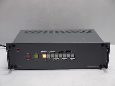Extron System 8 Wideband Audio Video Switcher Router w/ Projector Control